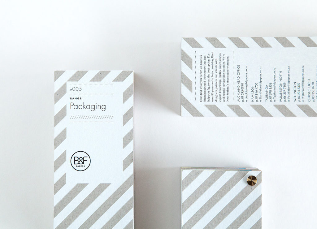 Smells Like Fresh Print — B&F Papers Packaging Swatch
