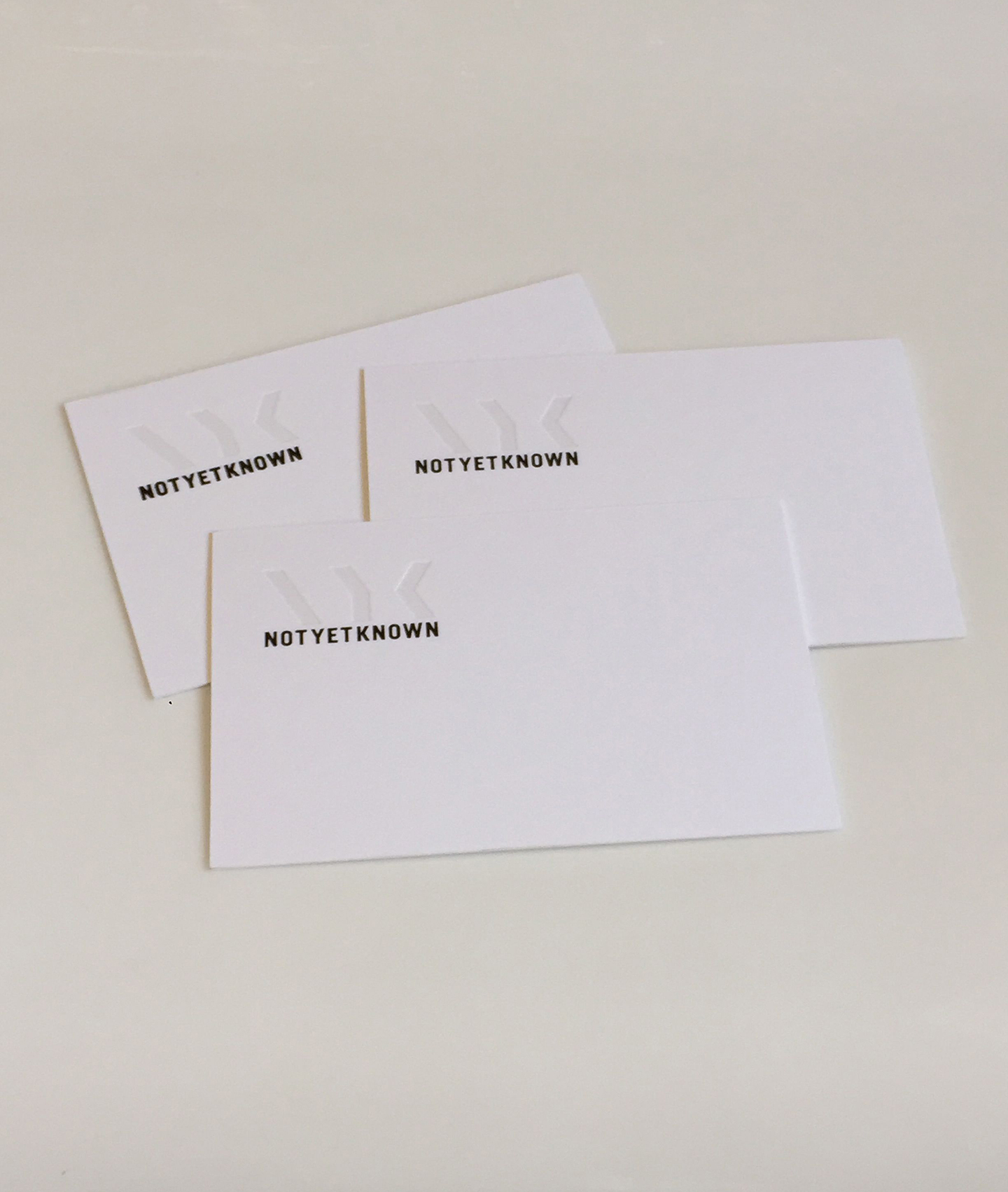 Smells Like Fresh Print — NotYetKnown Business Cards - Design ...