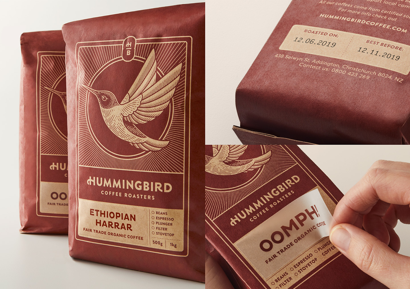 Fresh From The Field — Hummingbird coffee roasters by FUMAN